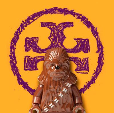chewbacca tory burch lego wars