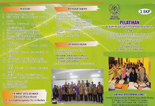 Pelatihan Rekam Medis dan Informasi Kesehatan Mei 2016 Oleh DPD Pormiki Sumatera Utara