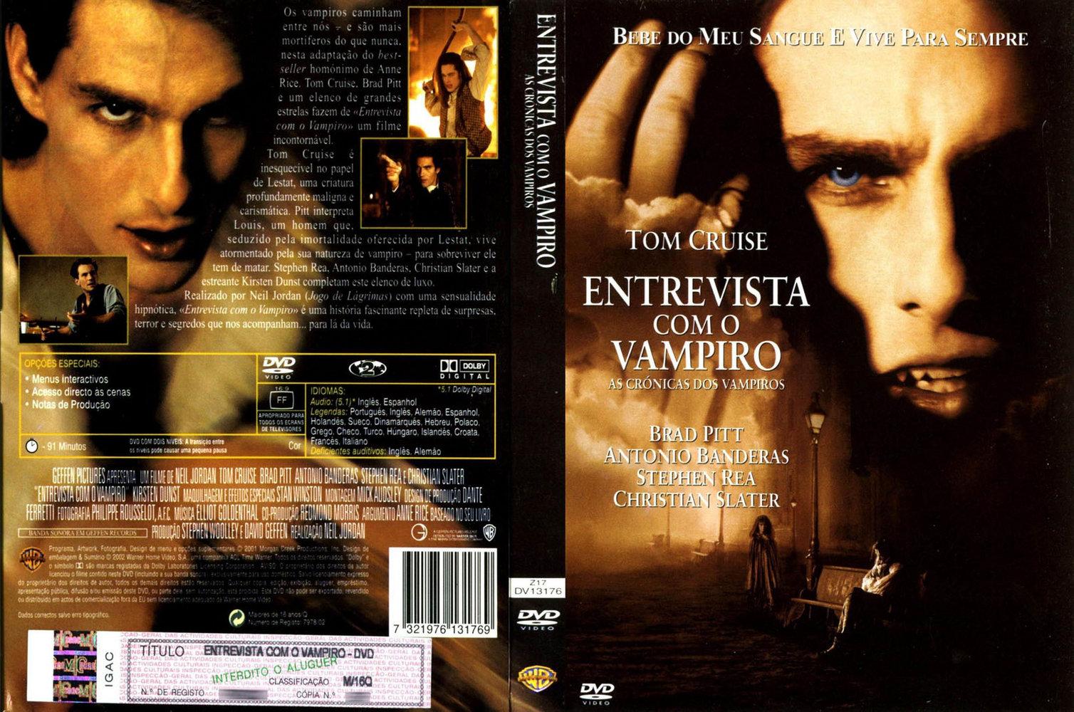 filme entrevista com um vampiro dublado gratis