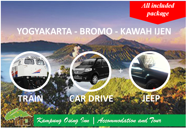 Yogyakarta - Bromo - Kawah Ijen (All Included Package)
