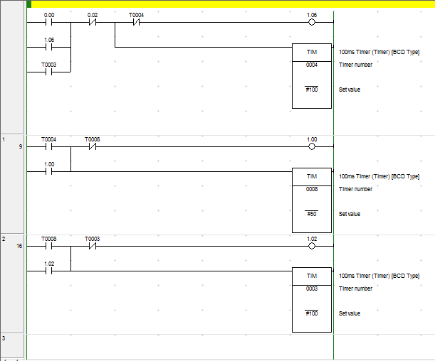 Program Lampu Traffic Light Dengan Cx Programmer