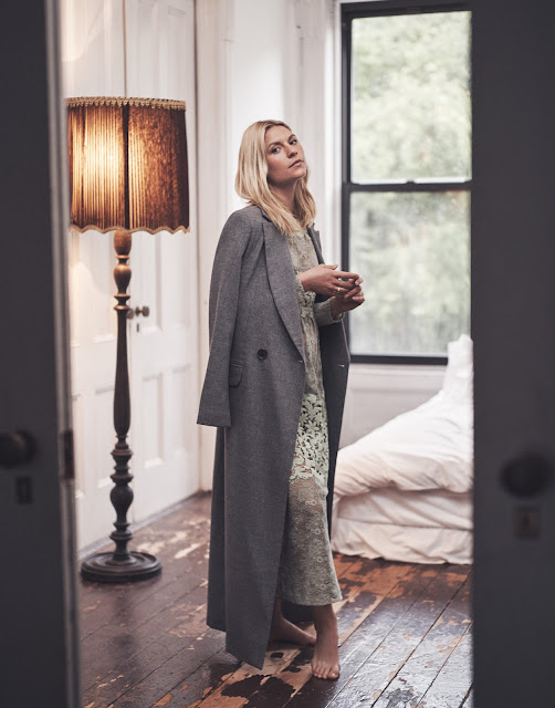 Protagonist Coat - Claire Danes in The Edit Magazine by Steven Pan - Cool Chic Style Fashion