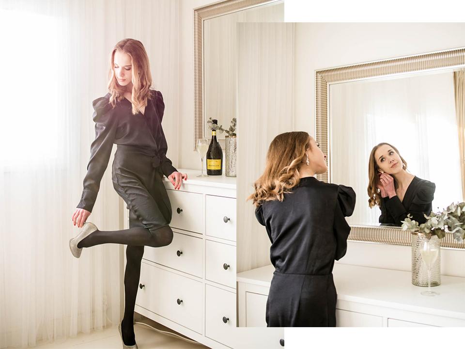 New Year's Eve outfit inspiration - Uuden vuoden aatto juhlapukeutuminen