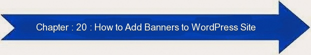 Next: How to Add Banner to WordPRESS Site
