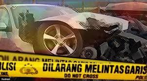 Romylus Tamtelahitu Kunjungi Anggota Polres Sorong Selatan Korban Laka Tunggal
