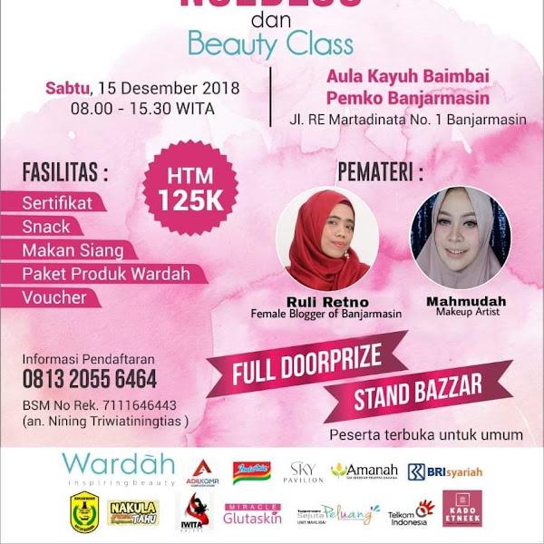 Workshop Emak-Emak Ngeblog dan Beauty Class bersama Alisa Khadijah Banjarmasin