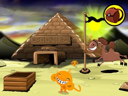Monkey Go Happy: Pyramid Escape