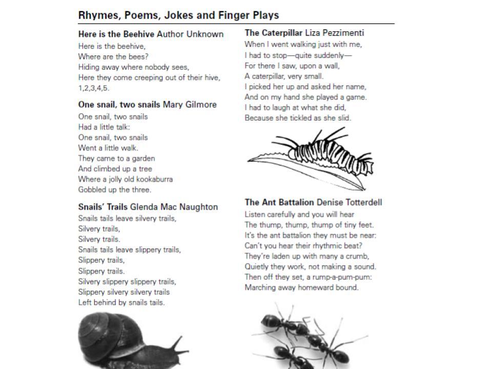Języki Dzieciom O Zabawie Słowem Czyli Krótkie Wierszyki