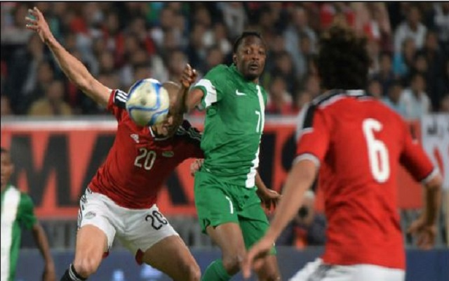 Egypt vs Nigeria [1:0] Nigeria fails to qualify for Africa Cup of Nations 2017