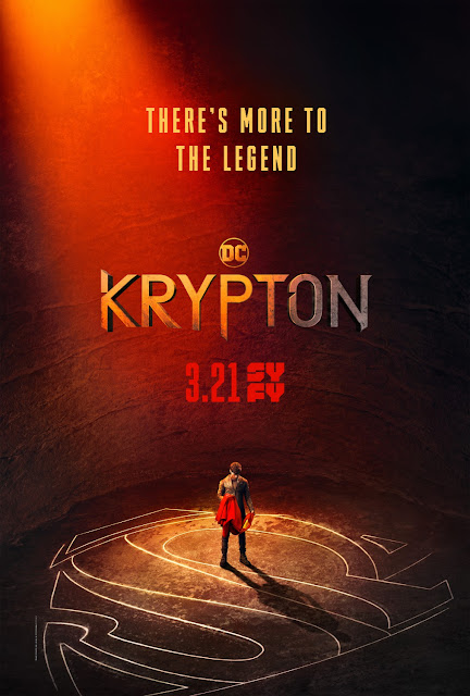 Krypton Television Series Teaser One Sheet Poster by Syfy x DC Comics