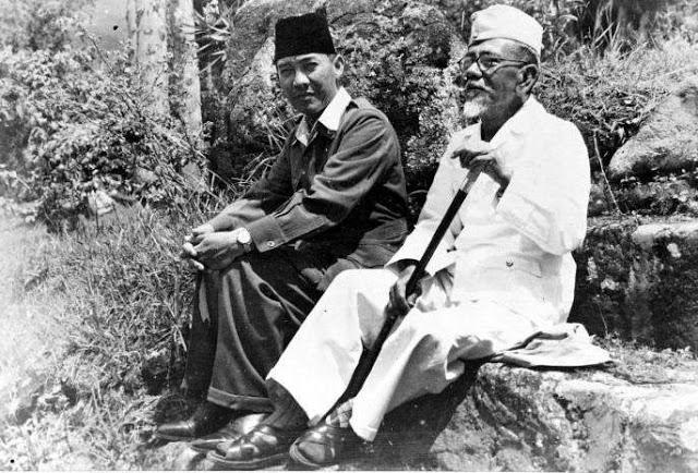 Presiden Soekarno dan H. Agus Salim, Tahun 1948
