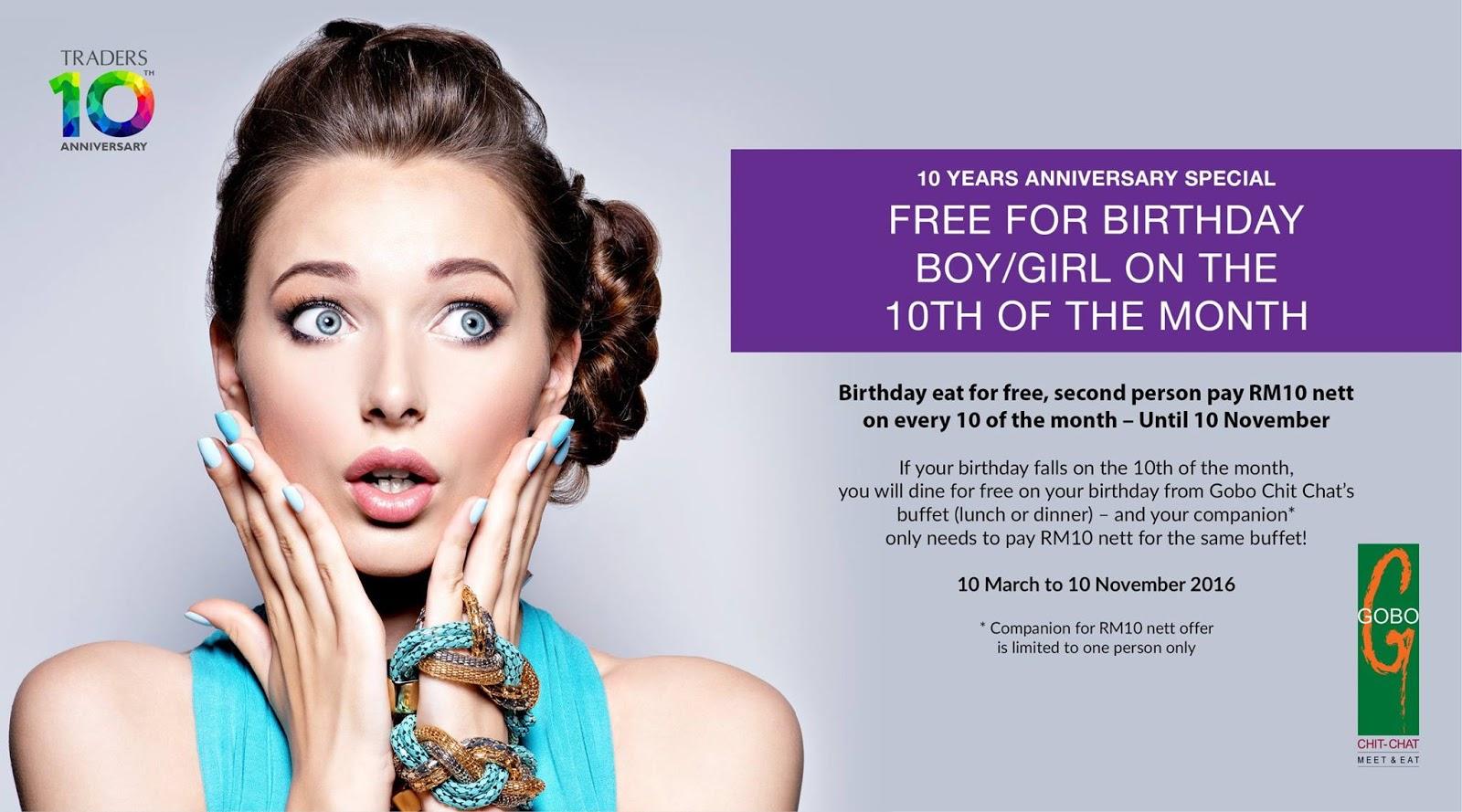 Free Birthday Vouchers ~ The malaysian fella: stuff: get free stuff on your birthday