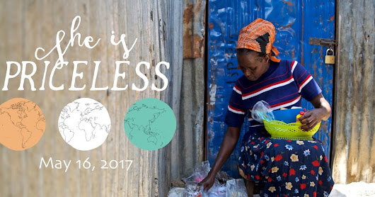 She Is Priceless - A Global Giving Day post.