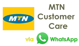 mtn official whatsapp number