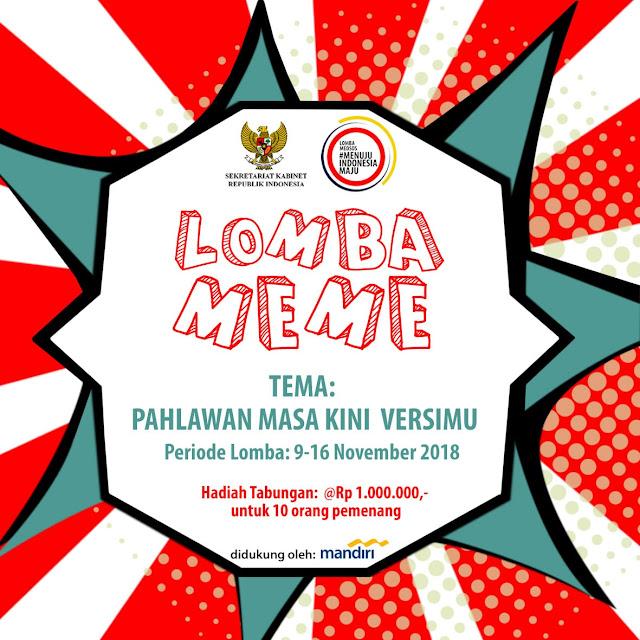 Lomba Media Sosial Menuju Indonesia Maju oleh Setkab