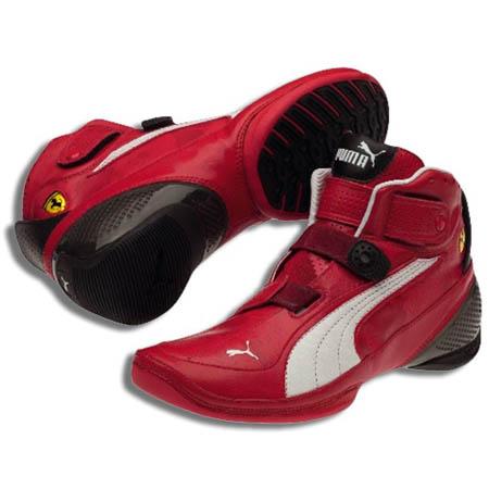 Puma Ferrari Shoes Red And White
