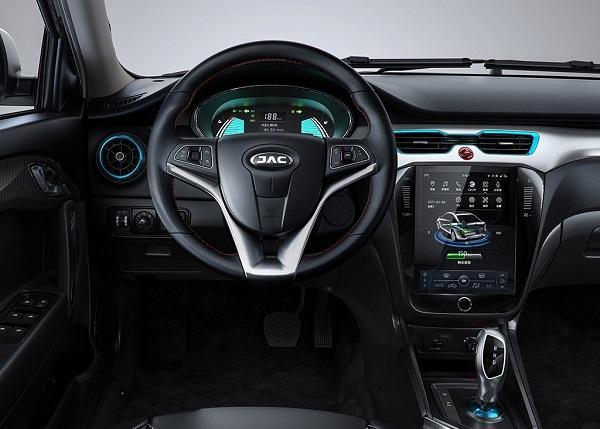 Interior JAC iEV A50