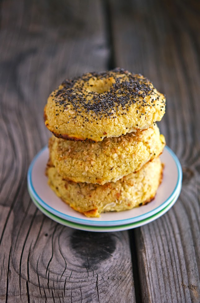 Cauliflower Bagels