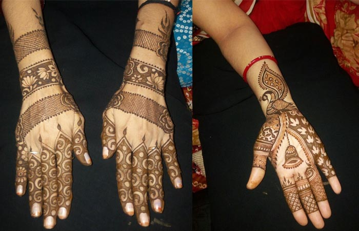 Hand Mehndi designs Images