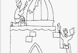 Gambar Mewarnai Masjid Dan Orang Nusagates