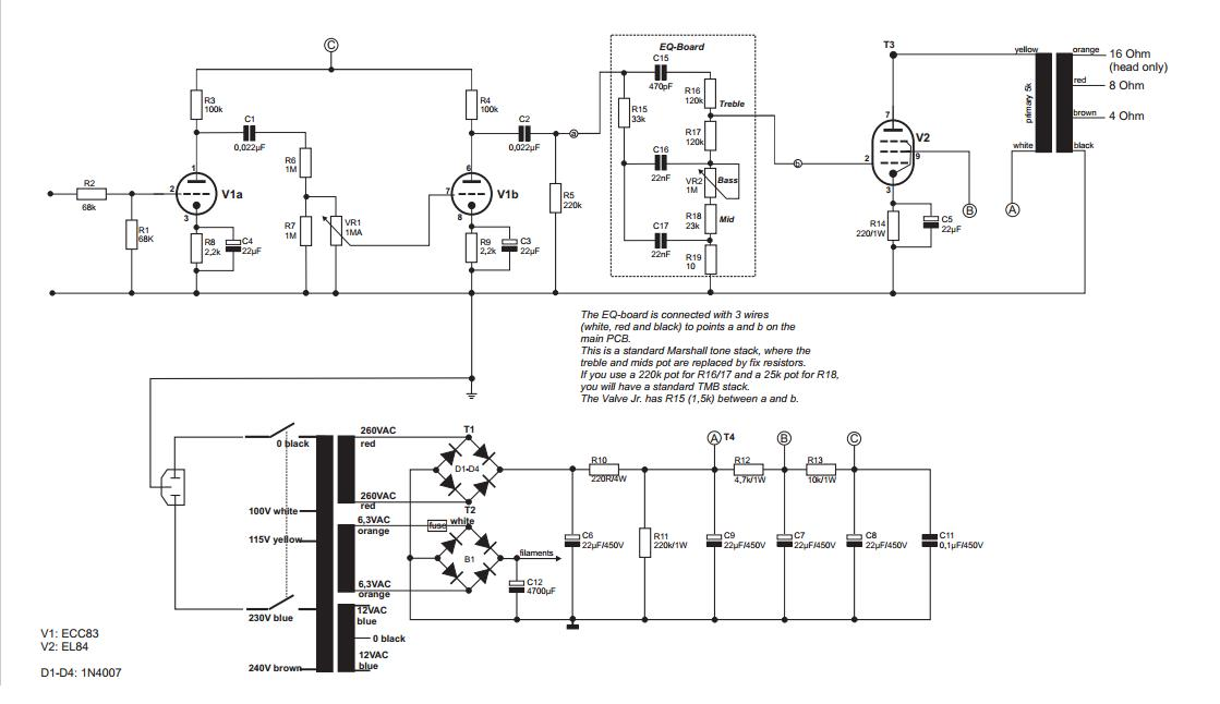 Kustom Defender Schematic - Wiring Diagram Img