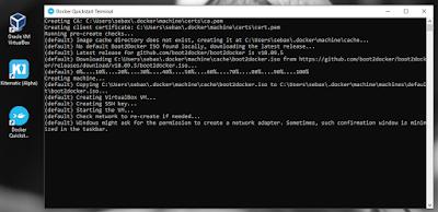 Configurar Docker Toolbox
