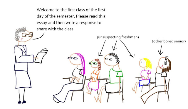 Example satire essay