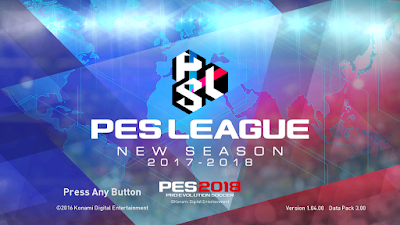 PES 2017 PES 2018 Graphic Theme ( PES League )