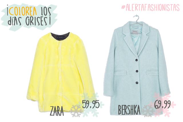 moda otoño invierno abrigos zara mango bershka h&m