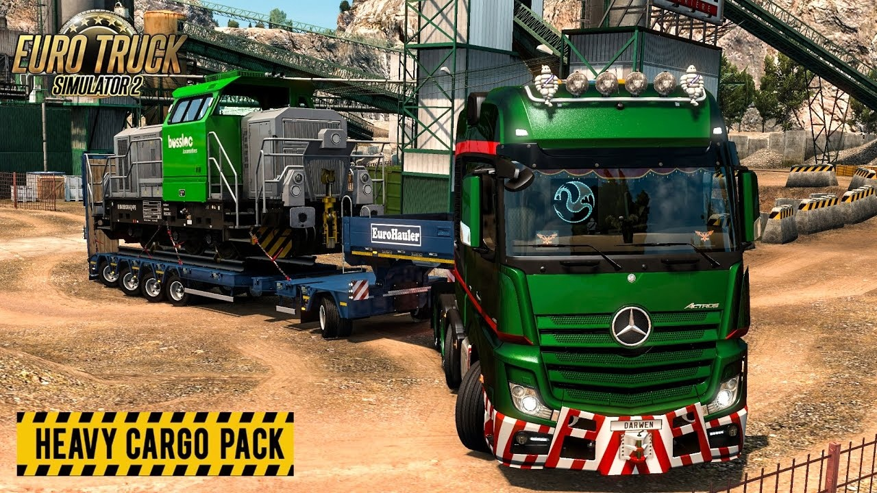 American Truck Simulator Heavy Cargo Pack Game Review