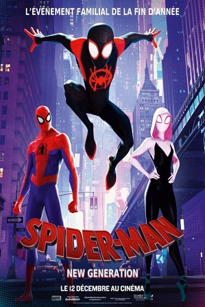 Spider-Man Into the Spider-Verse (2018) 450Mb Full Hindi Dual Audio Movie Download 480p Web-DL thumbnail