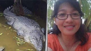 بالفيديو.. تمساح يجرّ امرأة إلى قفصه ويلتهمها «على قيد الحياة»