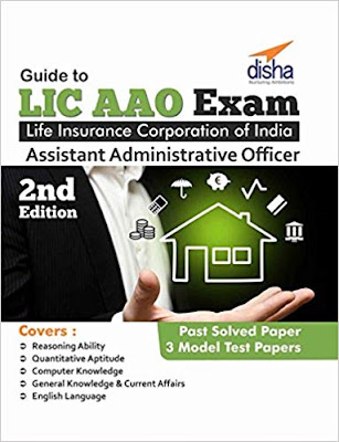 Free Download Guide to LIC AAO Exam by Disha Publication PDF