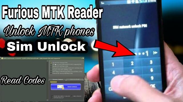 Furious MTK code Reader 2017 | Unlock MTK Phones | Read Code