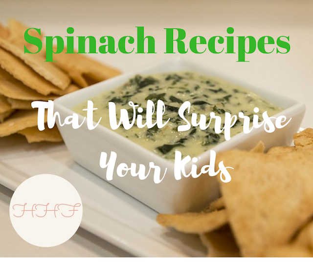 kid friendly spinach recipes