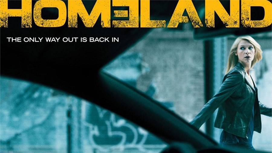 Homeland - 7ª Temporada Legendada 2017 Série 1080p 720p BDRip Bluray FullHD HD completo Torrent