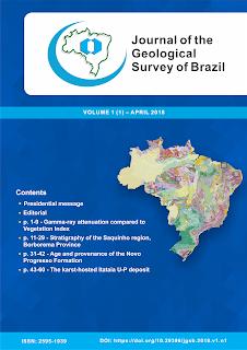 Novo periódico científico do Serviço Geológico do Brasil está disponível