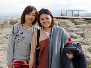 LiLi and Celine at Perperikon
