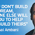 Success story of Dhirubhai Ambani