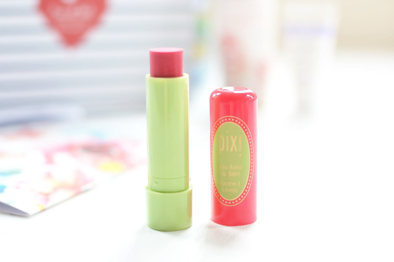 pixi ripe raspberry lip balm