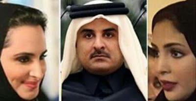 عااااااجل : امير قطر يطلق زوجته لهذا السبب مفاجأة .... شاهد التفاصيل