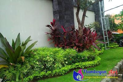 Jasa Taman Surabaya Pembuatan taman di gresik