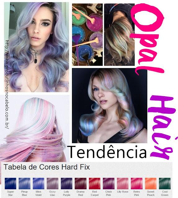 Passo a Passo e cores – Opal Hair