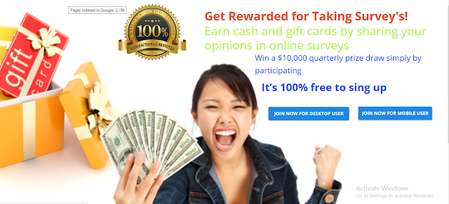 GIFT CARD OFFER  $10000 .Get Rewarded for Taking Survey's!