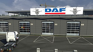 DAF Big Garage mod