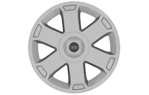 Roda Audi S3 (3D Model)