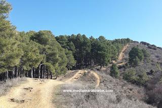 La erosion en la montaña