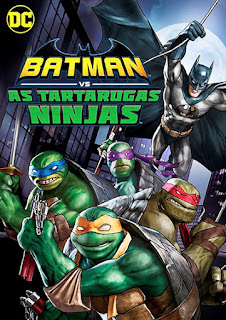 Batman vs. As Tartarugas Ninjas - HDRip Dual Áudio