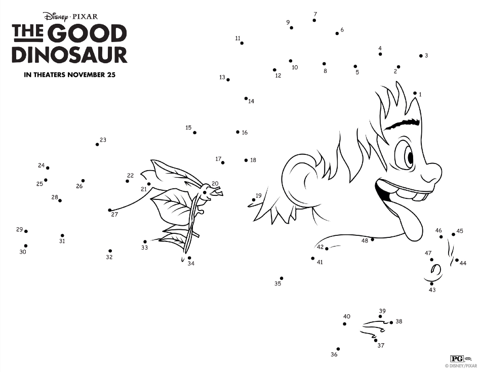 The Good Dinosaur El Capitan Discount + Free Activity