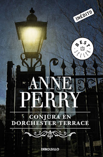 Portada Anne Perry Conjura Dorchester Terrace